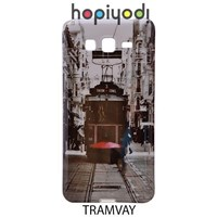 Samsung Galaxy Grand Prime Kılıf Silikon Tramvay Desenli Kapak