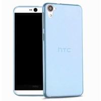 Microsonic Htc Desire 826 Kılıf Transparent Soft Mavi
