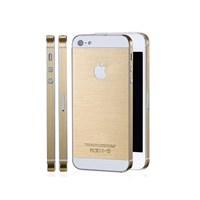 Microsonic İphone 5 & 5S Gold Altın Sarısı İnce Metalik Sticker