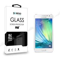 Eiroo Samsung Galaxy A3 Tempered Glass Cam Ekran Koruyucu