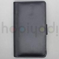 Nokia Lumia 920 Kılıf Slim Sola Açılan Cüzdan Siyah