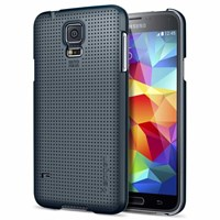 Galaxy S5 Case Ultra Fit Metal Slate Cap