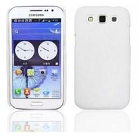 Samsung Galaxy Win i8552 Kılıf Rubber Beyaz Kapak