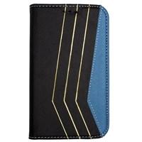 Color Case Galaxy S3 Mini Gizli Mıknatıslı Kılıf Siyah MGSACPUVY27