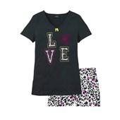 bpc bonprix collection Şort pijama - Siyah 21436998