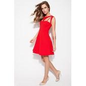 Én Vie By Lidyana Evelyn Kırmızı Elbise 31926293
