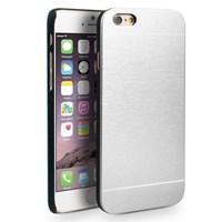 Microsonic Iphone 6s Plus Kılıf Hybrid Metal Gümüş