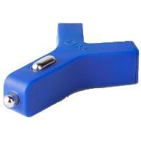 TYLT 21042 Y-Charge 2 x USB iPhone, iPod, iPad Araç Şarj Cihazı Mavi