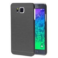 Microsonic Samsung Galaxy Alpha Kılıf Hybrid Metal Siyah
