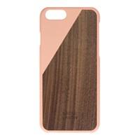 Case Clic Ahşap iPhone 6Telefon Kılıfı- Pembe