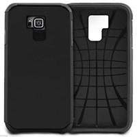 Microsonic Slim Fit Dual Layer Armor Samsung Galaxy Alpha Kılıf Siyah