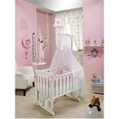 Bebedecor Angel Beşik Beyaz Mobilya / Pembe Tekstil 30834425