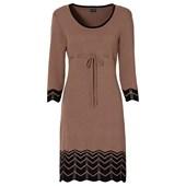 BODYFLIRT Örgü elbise - Kahverengi 93859195 6111255173372