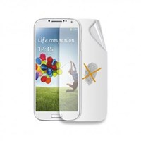 Celly Anti Parmakizi Samsung Galaxy S 4 Ekran Koruyucu Film (2 Ön, Mat, Parlak) SCREEN290A