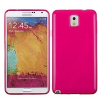 Microsonic Glossy Soft Kılıf Samsung Galaxy Note 3 N9000 Pembe
