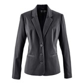 Bpc Selection İnce Çizgili Blazer Ceket - Gri 32033177