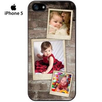 Eskitme Fotoğraflı iPhone5 Kılıf