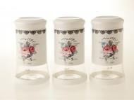 Biev Alg1402 Pretty Rose 3Lü Kavanoz Seti 1100 Ml 25464277