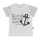 Bibaby Anchor Tshirt Kırmızı 15 Ay 22343194