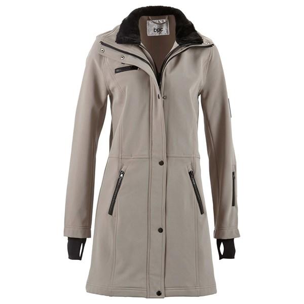 Bpc Bonprix Collection Uzun Softshell Ceket - Kahverengi 29925385