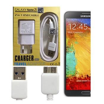 Samsung Samsung N9000 Galaxy Note 3 USB+Traveller Şarj Cihazı