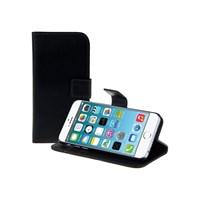 Microsonic Cüzdanlı Standlı Deri iPhone 6s Plus Siyah
