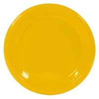 Soyalan Plastik Renkli Tabak Sarı 10 Adet