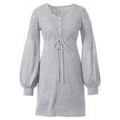 BODYFLIRT Penye elbise - Gri 93033095 4894357065463