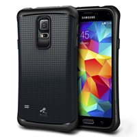 Verus Samsung Galaxy S5 Case Thor Series Kılıf HARD DROP - Renk : Charcoal Black