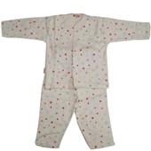 Sebi Bebe 51032 Bebek Pijaması Ev Baskılı Kahverengi 6-9 Ay (68-74 Cm) 33443870