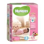 Huggies Midi Kız 54'lü Bebek Bezi 3 Beden