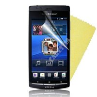Sony Ericsson Xperia Arc Ekran Koruyucu Tam 3 Adet
