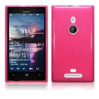 Microsonic Glossy Soft Kılıf Nokia Lumia 925 Pembe