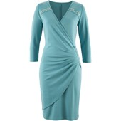 bpc selection Yandan Drapeli Elbise - Mavi 32535109