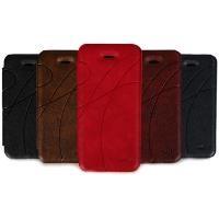 DIP-589 Leather Case iPhone 5/5S Uyumlu Koruyucu Kılıf Kırmızı