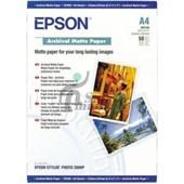 EPSON ARCHİVAL MATTE PAPER A4, 192g-m², 50 Sheets