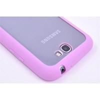 Samsung Galaxy Note 2 Silikon Kılıf Pembe