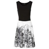 BODYFLIRT Penye elbise - Beyaz 97630895 17841325