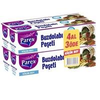 Parex Buzdolabı Poşeti Küçük Boy 20x30 Cm 50 Adet 4 Al 3 Öde