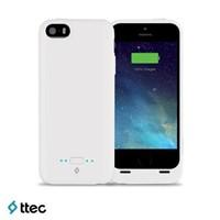 Ttec Caffeine Iphone 5-5S 2000 Mah Şarj Kılıfı 2SK1002B Beyaz