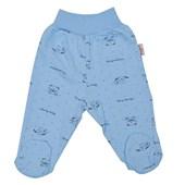 Tomuycuk 35011 Köpekli Bebek Pantolonu Mavi 0-3 Ay (56-62 Cm) 33442627