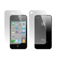 iPhone 4 ÖN ARKA Ekran Koruyucu Tam 3 Adet