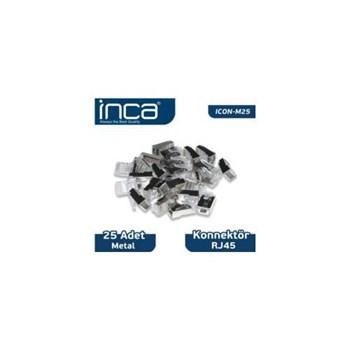 Inca Icon-m25 Rj45 25 Adet Metal Konnektör