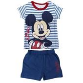Mickey Mouse MC4262 Erkek Pijama Takımı Lacivert 9-12 Ay (74-80 Cm) 33442707