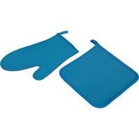T-Design Eldiven&Nihale Seti Bs10001 Mavi 19648519
