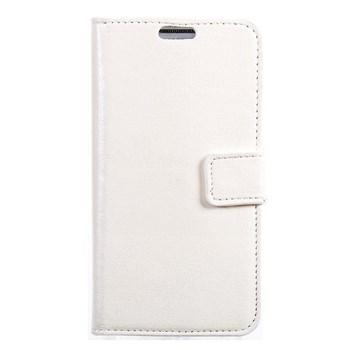 xPhone HTC Desire 616 Cüzdanlı Kılıf Beyaz MGSEFGS2589