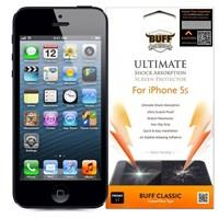 BUFF iPhone 5S Darbe Emici Ekran Koruyucu Film