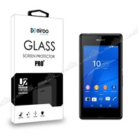 Eiroo Sony Xperia E3 Tempered Glass Cam Ekran Koruyucu
