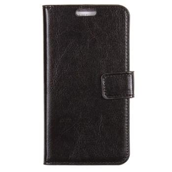 xPhone Lumia 820 Cüzdanlı Siyah Kılıf MGSCEQTUPX3
