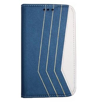 Color Case Sony Xperia Z2 Gizli Mıknatıslı Kılıf Mavi MGSACFHNTUX